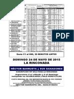 RETROSPECTO DOMINGO 240515 HECTOR BARRUETA