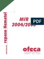 Hematologia Repaso 2004-2005