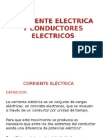 Corriente Electrica y Conductores Electricos