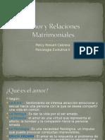 Amor y Relaciones Matrimoniales
