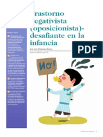 Oposicionista Desafiante Manual Breve