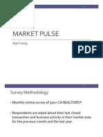 Market Pulse Survey, April 2015