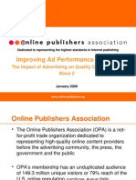 Improving Ad Effectiveness Online_OPA_01 2009