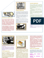 TriFolio sobre la generación de las computadoras