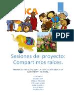 Proyecto sesiones