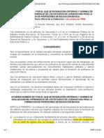 Acuerdo_261 Normas de Evaluacion sep