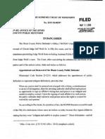 Weill PD Supreme Court Order1