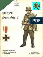 56487847 Panzer Grenadiers 1939 45 Almark