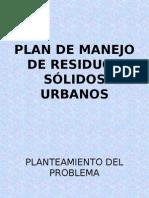 001 Plan de Gestión de Manejo de Residuos Sólidos Urbanos