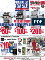 Seright's Ace Hardware 2015 Memorial Day Sale