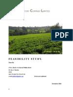 Feasibility Study TET TEA FACTORY