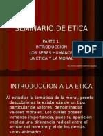 SEMINARIO DE ETICA