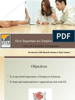 How Important Are Employee Relations Final