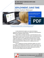 Manage infrastructure and deploy services with ease using Dell Active System Manager