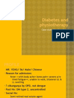 Diabetes and Physiotherapy
