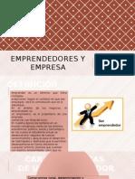 Emprendedores y Empresa