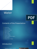 Water PPT presentaion