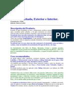 Esmalte Al Agua Pieza & Fachada-1-2014.