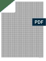 Hartie Milimetrica de Tras La Imprimanta