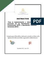 Instructivo Administracion Btp y Bch