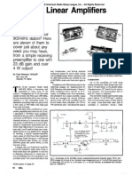 903-MHz Linear Amplifiers