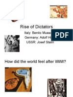 Rise of Dictators