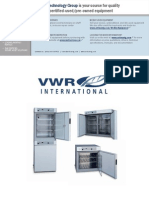 VWR 1500 Series Manual