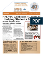 January 2010 MAS/FPS eNews