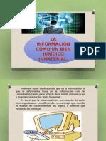 Informacion Como Un Bien Juridico Inmaterial