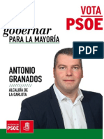 Progr. Electoral PSOE La Carlota 2015