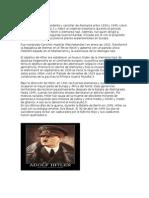 Adolf Hitler Fue El Presidente y Canciller de Alemania Entre 1933 y 1945
