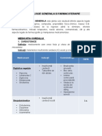 Farmacologie Generala Si Farmacoterapie