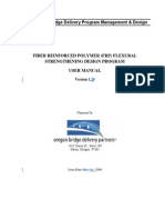 FRP Flexure Design MANUAL (Ver.1.2)