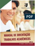 Manual Orientação Trabalhos Acadêmicos Ver 2012