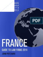 France - Guide to Law Firms 201 - The Legal 500 - John Pritchard