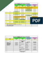 summer schedule july - august 2015