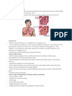 Pengertian Pneumonia