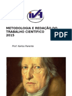 Metodologia e Redação Do Trabalho Científico2