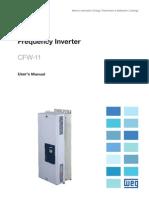 WEG CFW11 130kW Inverter Drive