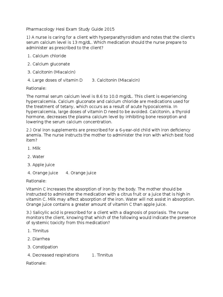 Community Nursing HESI Study Guide - Scribd