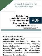Planeacion Del Desarollo en los Tres Niveles de Gobierno en México.pptx