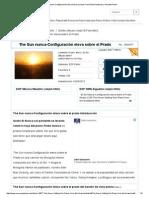 The Sun Nunca-Configuración Eleva Sobre El Prado-Free Piano Partituras y Acordes Piano