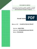 M27_Planification Du Projet2222