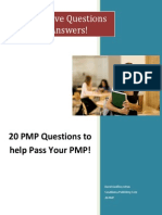 Pmp Questions and Answers