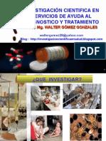 Investigación Cientifica en Sadt 2011