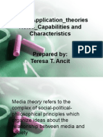 teres powerpoint on media theories