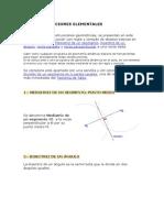 CONSTRUCCIONES ELEMENTALES GEOMETRICAS