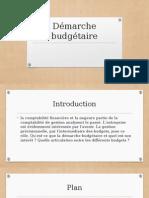 Démarche budgétaire