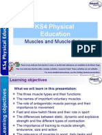 5  muscles and muscle action