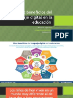Diez Beneficios Del Lenguaje Digital en La Educación